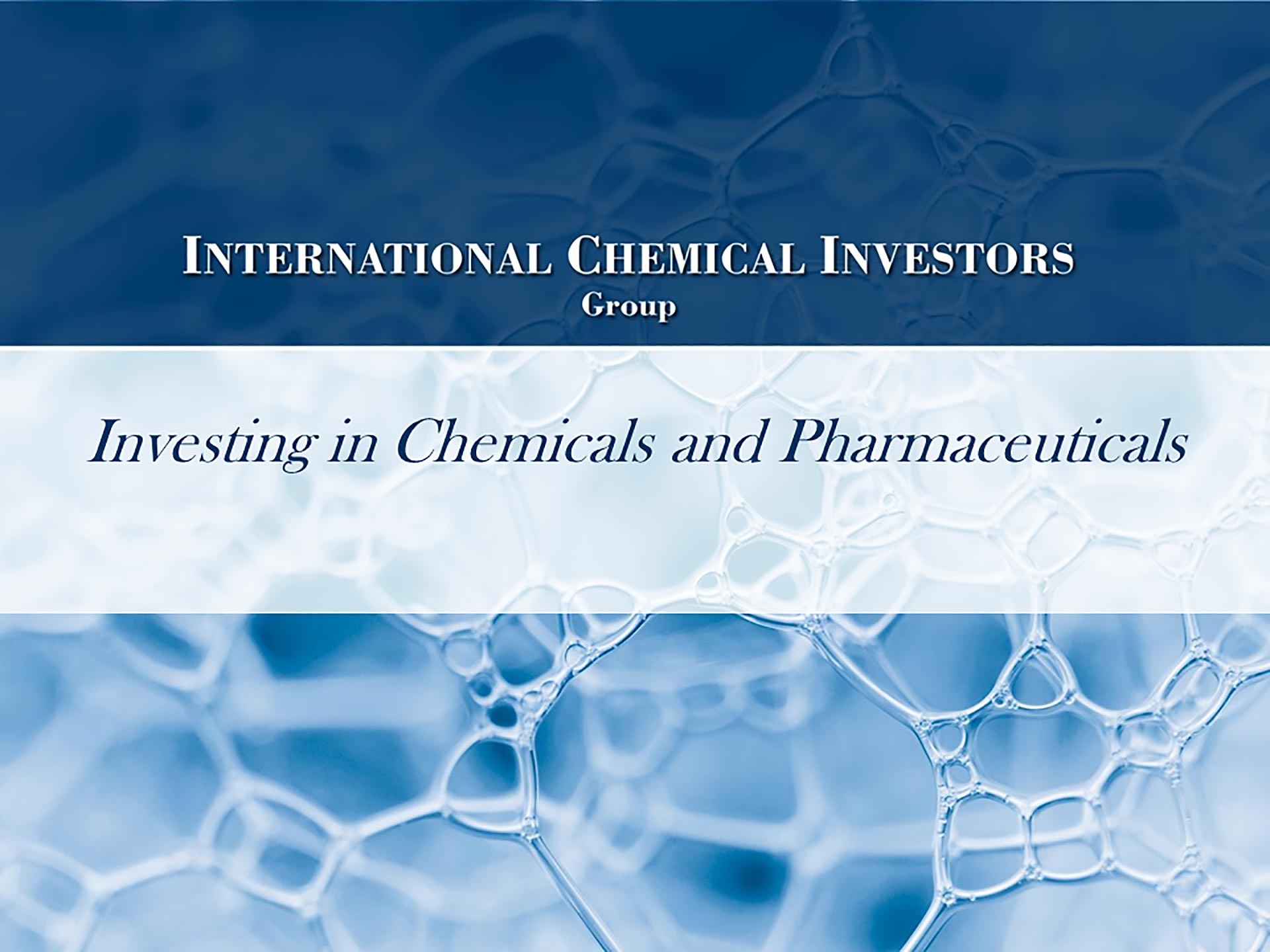 INTERNATIONAL CHEMICAL INVESTORS S.E.